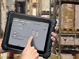 Lager Logistik Handel Tablet PC