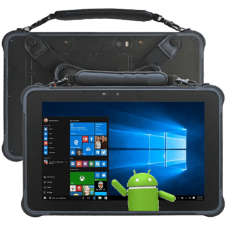 Hochauflösendes Industrie Outdoor Tablet TE101E Android 6.0
