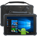Rugged Windows Android Tablet PC TE 101F Windows 10